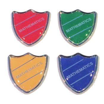 MATHEMATICS badge